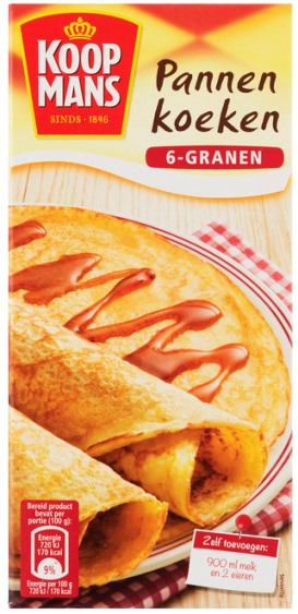 Koopmans Pannenkoeken Multigrain Mix (6-granen) (ONLY 2 LEFT)
