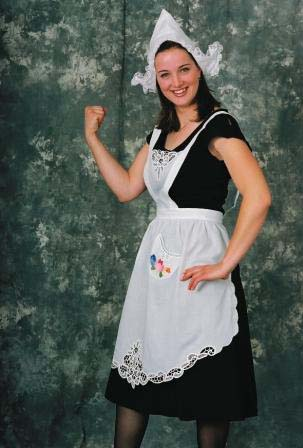 Dutch Women's Tulip Apron