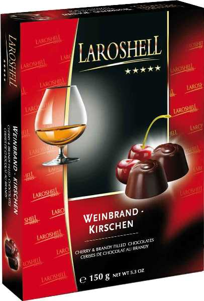 *Laroshell Cherry & Brandy choc (ALCOHOL) 21+only