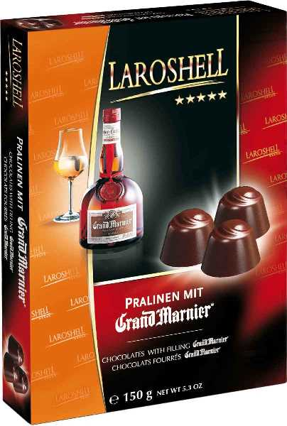 Laroshell Grand Marnier chocolates (ALCOHOL) 21+only (1 LEFT)