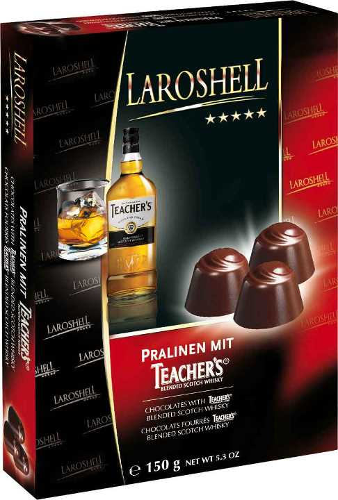 Laroshell Teachers Whiskey choc (ALCOHOL) 21+only (7 LEFT)