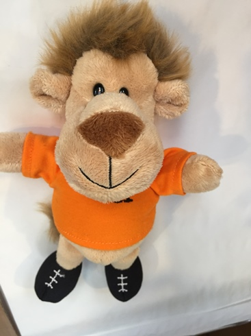 Lion plush toy 8.5""