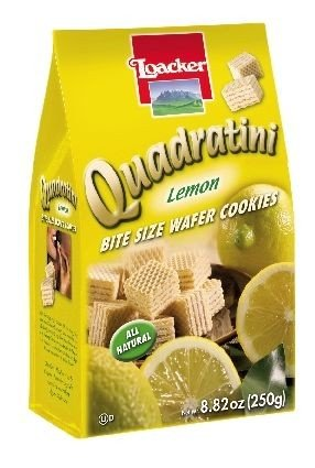 Loacker Quadritini Lemon (125g) (SELL BY DEC 2017) (8 LEFT!)