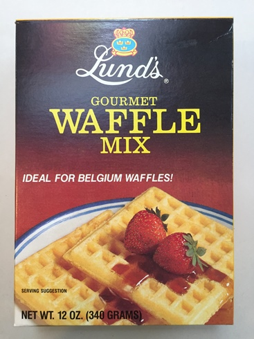 Lund's Swedish Waffle Mix (SELL-BY JULY 2017)