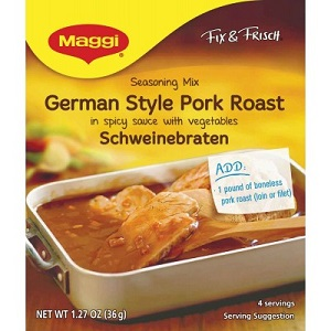 Maggi Pork Roast Mix (SELL-BY DATE SEPTEMBER 2017) (2 LEFT)