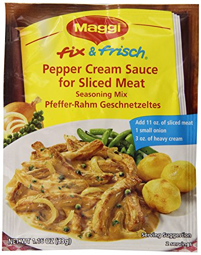 Maggi Pepper Cream Sauce (SELL-BY JUNE 2017)