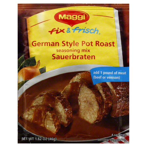 Maggi Sauerbraten German Style Pot Roast Mix