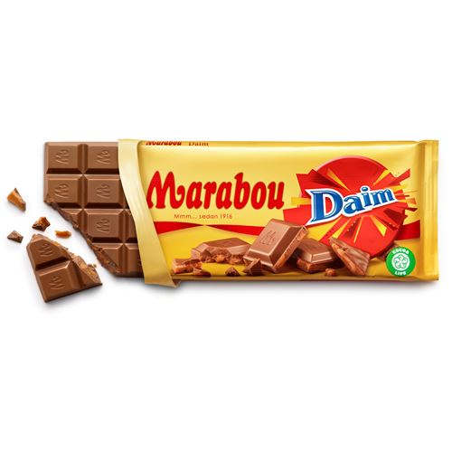Marabou Daim (Milk w Caramel Pieces) Choklad EXP. 07 APR 2017
