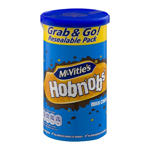 McVitie's Hobnobs Milk Chocolate Grab & Go