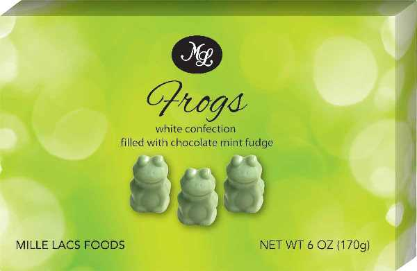 Mille Lac Fudge Mint Frogs (1 LEFT)