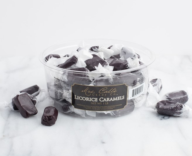 Mrs Call's Licorice Caramel
