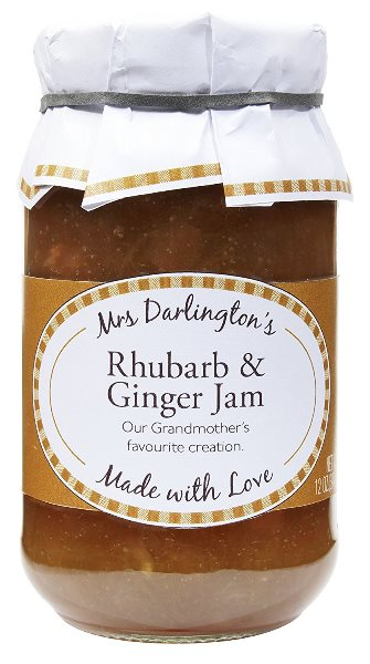 Mrs. Darlingtons Rhubarb & Ginger Jam