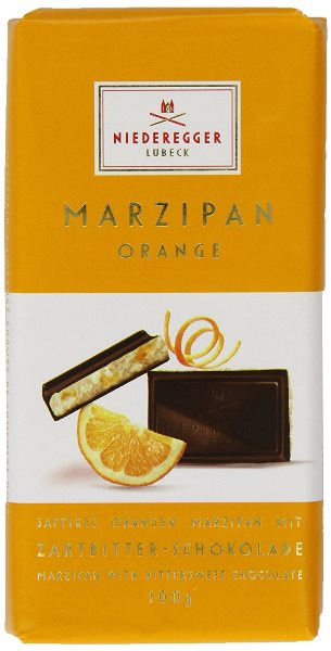 Niederegger Dark Choc Orange Marzipan Loaf (ONLY 3 LEFT)