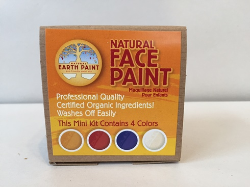 Natural Earth Face Paint (Organic, Nontoxic)  (3 LEFT)