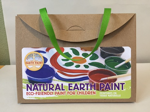 Natural Earth Paint Kit (Organic, Eco-Friendly) (2 LEFT)