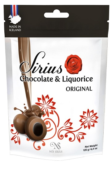 *Noi Sirius Icelandic Milk Choc covered licorice - Original
