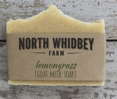 NorthWhidbey Farm Goat Soap- Lemongrass (OUT OF STOCK)