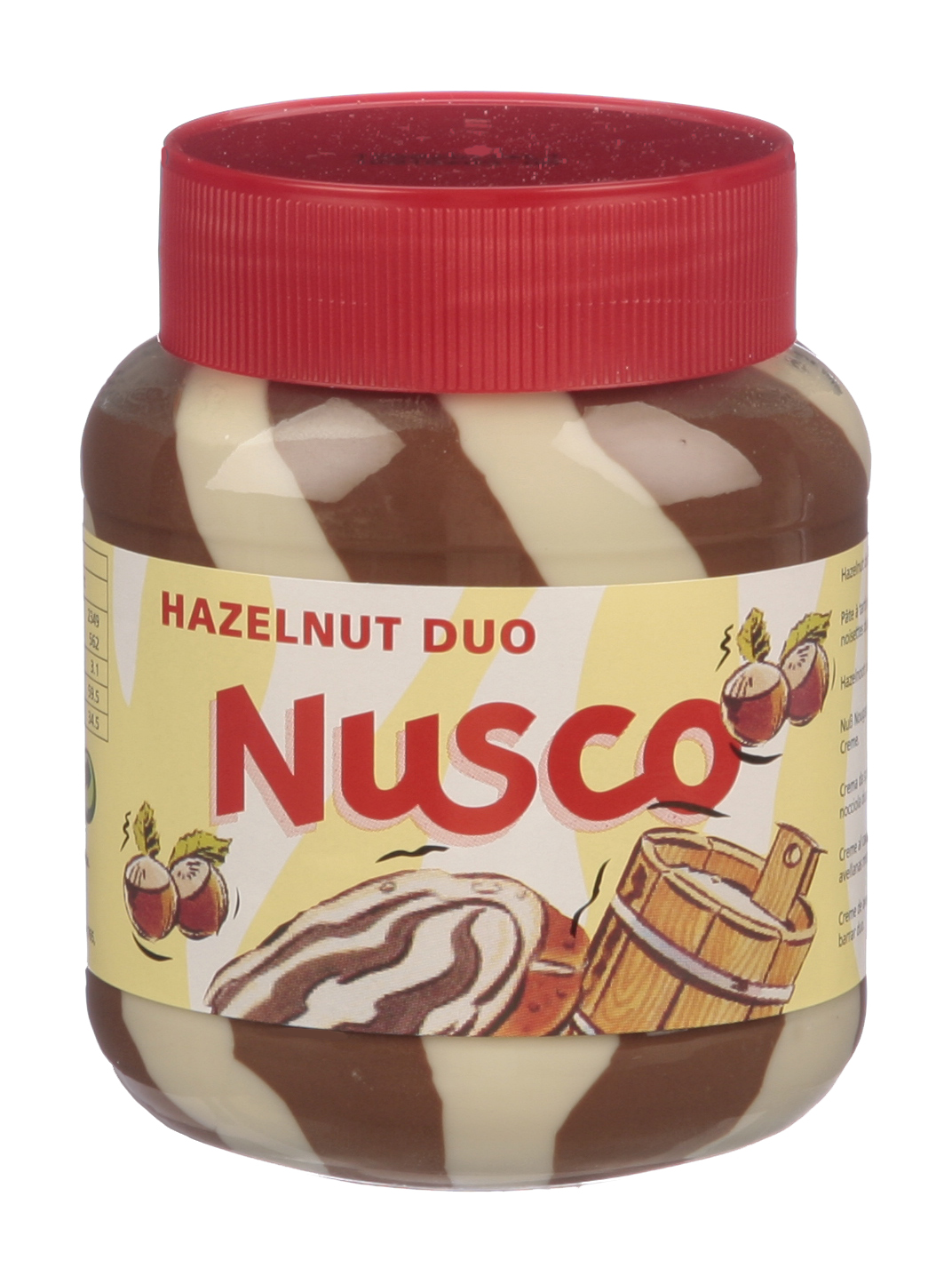 Nusco Milk & Hazelnut Chocolate spread
