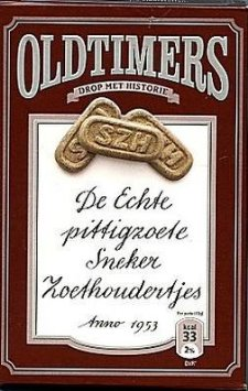 Oldtimers Sneker Zoethoudertjes sweet Licorice (brown box)