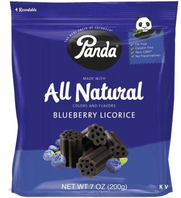 Panda Blueberry 40% OFF (Best by 9/23/17)