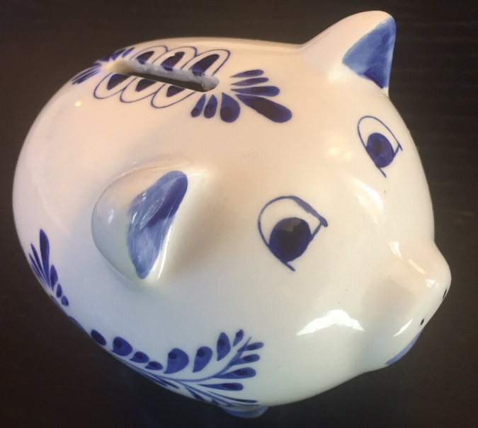 Piggy Bank Small (4 LEFT- LIMITED STOCK)