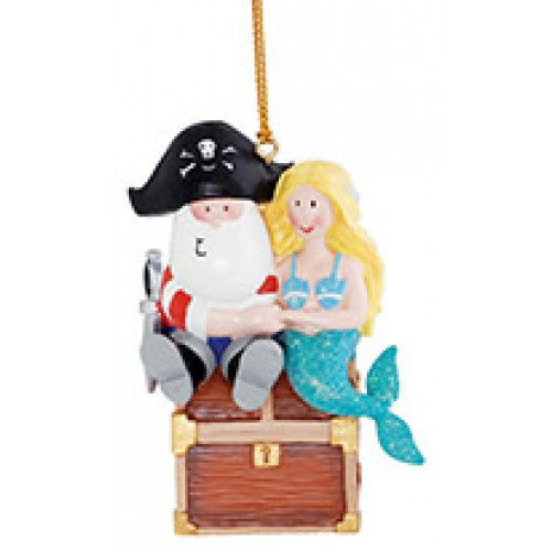 Pirate & Mermaid Ornament - Coupeville, WA