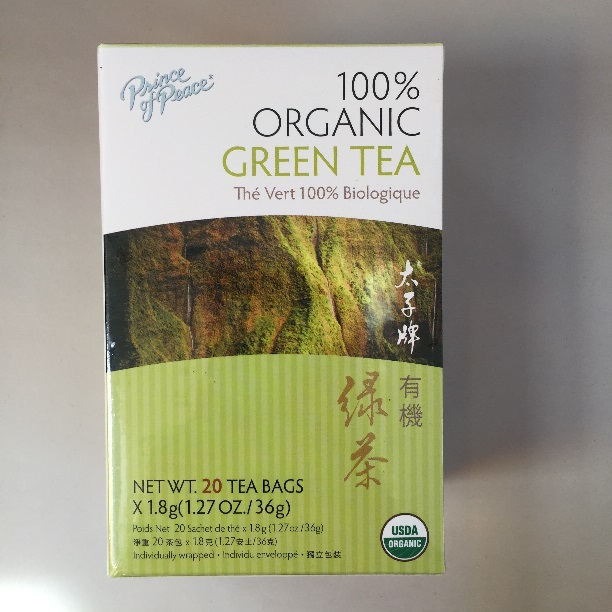 Prince of Peace 100% Organic Green Tea (OUT OF STOCK)