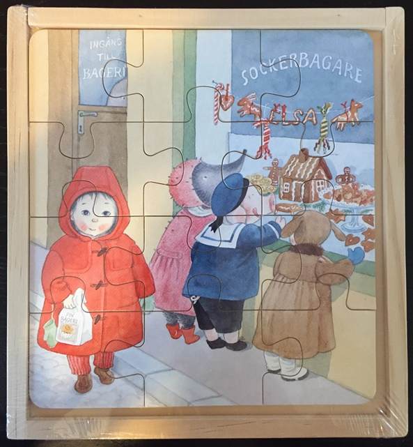 Lilla Kotten Puzzle based on Lena Anderson's books (out of stock