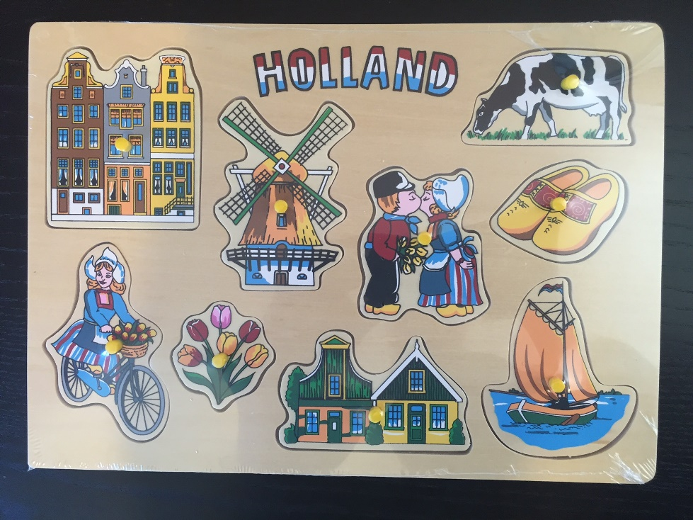 Dutch Wooden Puzzle