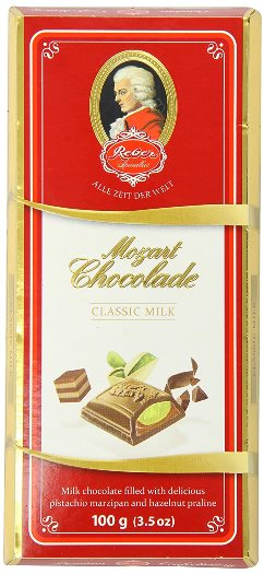 Reber Classic Milk Chocolate Bar