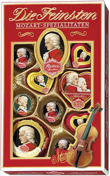 Reber Mozart Specialties in Gift Box (PRE-ORDER)
