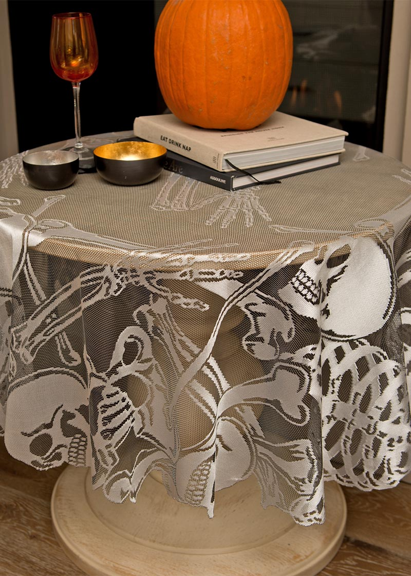 "Rest in Pieces Table Topper 58"" Round 30% OFF! (2 LEFT)"