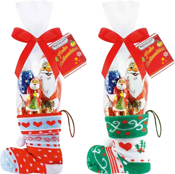 Riegelein Christmas Stocking with assorted figures (PRE-ORDER)