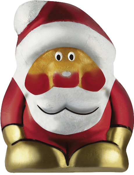 Riegelein mini solid chocolate Santa (PRE-ORDER)