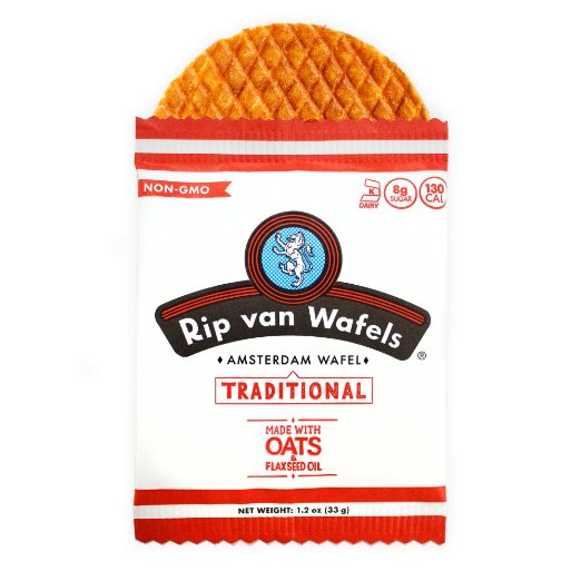 Rip Van Wafels Single Stroopwafel - Traditional