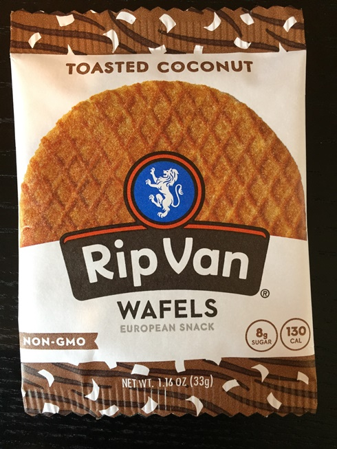 Rip Van Wafels Single Stroopwafel - Toasted Coconut (non-GMO)