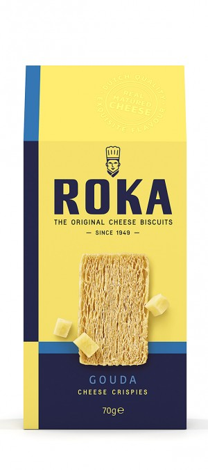 Roka Gouda Cheese Crispies (NEW SIZE)