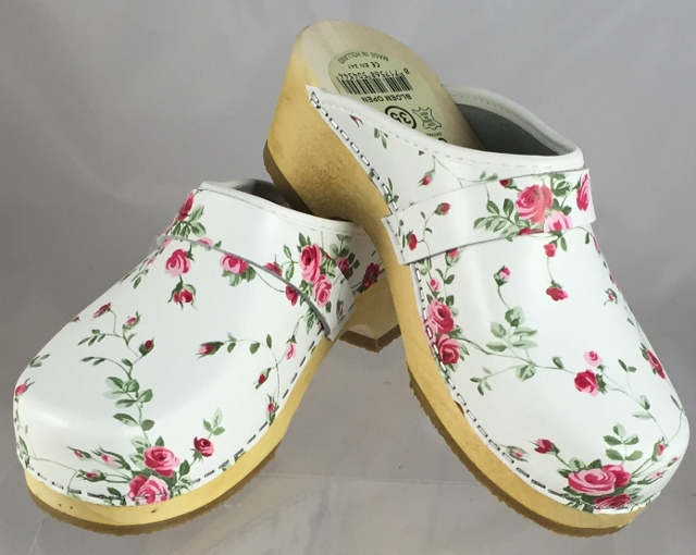 x Simson Dutch Made Leather Clogs (Fleuriste)x