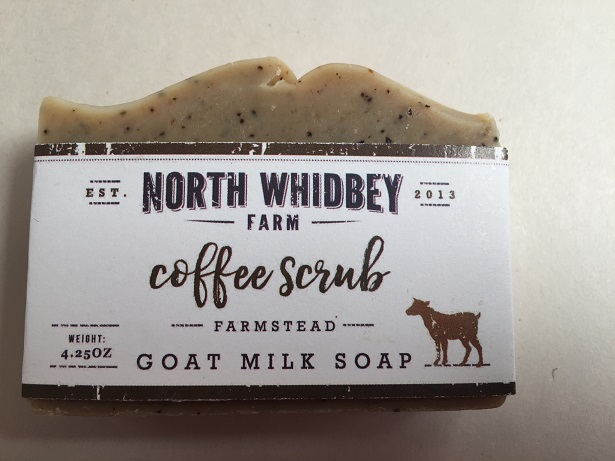 NorthWhidbey Farm Goat Soap - Coffee Scrub