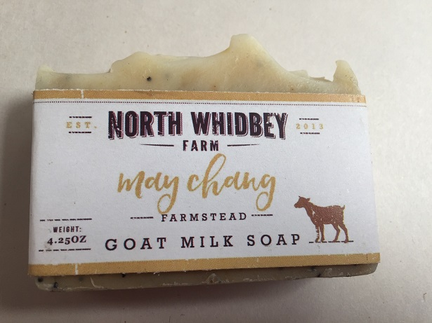 NorthWhidbey Farm Goat Soap - May Chang