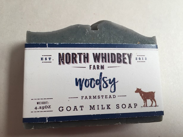 NorthWhidbey Farm Goat Soap -  Woodsy