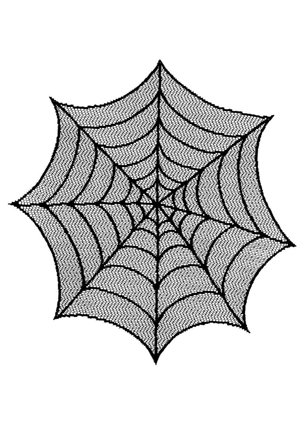 "Spider Web Doily 20""  (9 LEFT)"