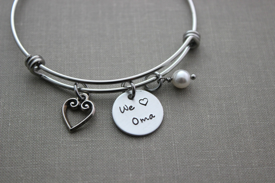 "Bracelet ""We Love Oma"""