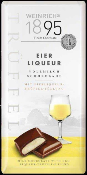 Weinrich Egg Liqueur Truffle Bar (ALCOHOL)(SELLBY FEBRUARY 2019)