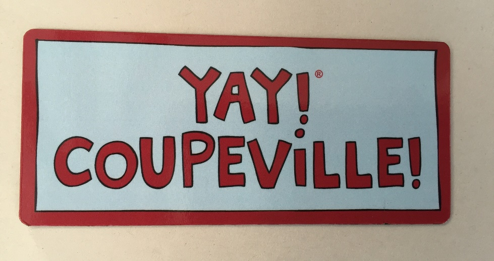 *Yay! Coupeville! Magnet