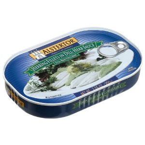 Alstertor Herring in Dill Sauce (Canned Fish)