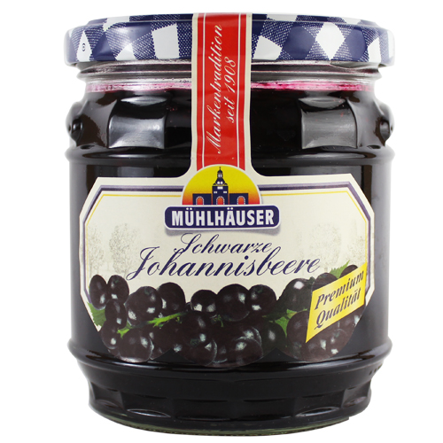 Muhlhauser Johnnisbeere ( Blackcurrant ) Jam (Out of Stock)