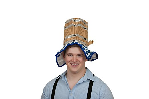 Bavarian Beer Barrel Party Hat