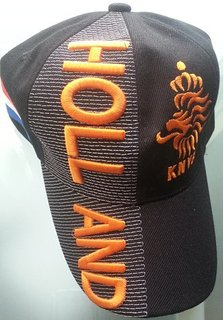 Netherlands Cap Black
