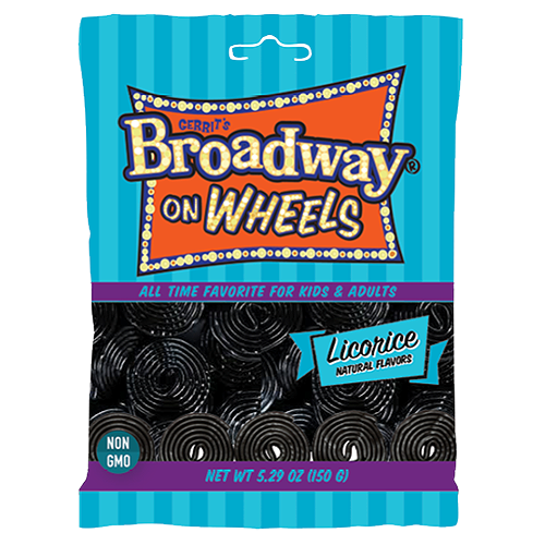 Gerrit's Broadway on Wheels Black Licorice